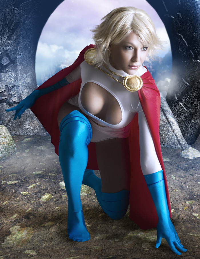Maaasitas Cosplay Powergirl...