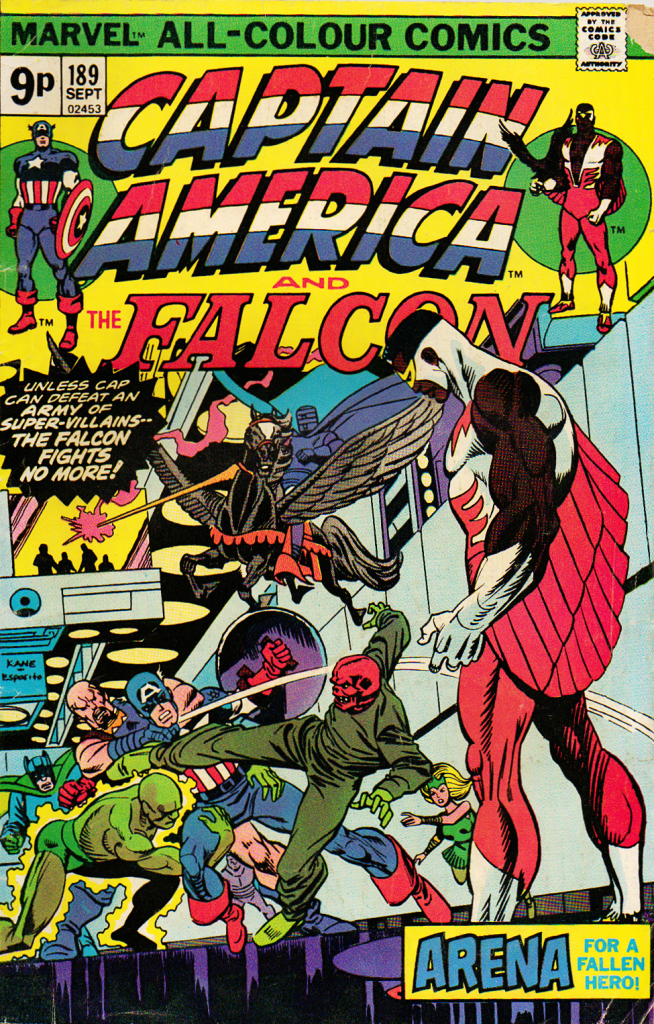 Captain America and Falcon 189 - Cover