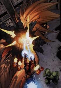avengers vs titans